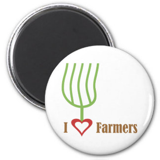 I granjeros del corazón imanes