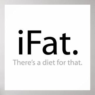 i grasa - hay una dieta para ese (el iFat) Póster