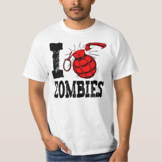 I Grenade Zombies Or I Bomb Zombies T-Shirt