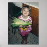 I Grew It Myself - corn - poster