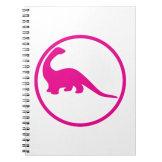 I grew up and became an paleontologist spiral notebook