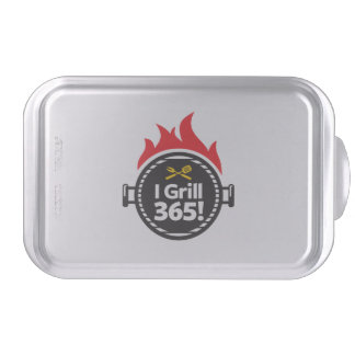 I Grill 365! Cake Pan