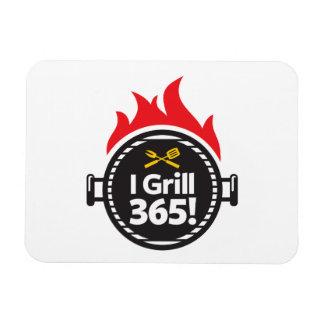 I Grill 365! Rectangular Photo Magnet