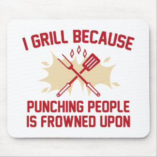 I Grill Mouse Pad