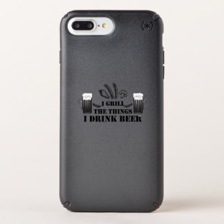 I Grill The Things I Drink Beer Party Family Funny Speck iPhone Case