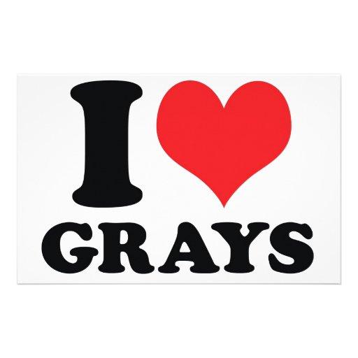 I grises del corazón/del amor papeleria
