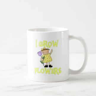 I Grow Flowers Tshirts and Gifts Classic White Coffee Mug