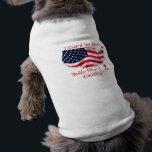 "I Guard the House, Daddy Guards the C... Shirt<br><div class=""desc"">military pride doggie shirt</div>"