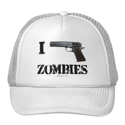 I Gun Zombies 2 Trucker Hats