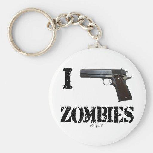 I Gun Zombies 2 Keychain