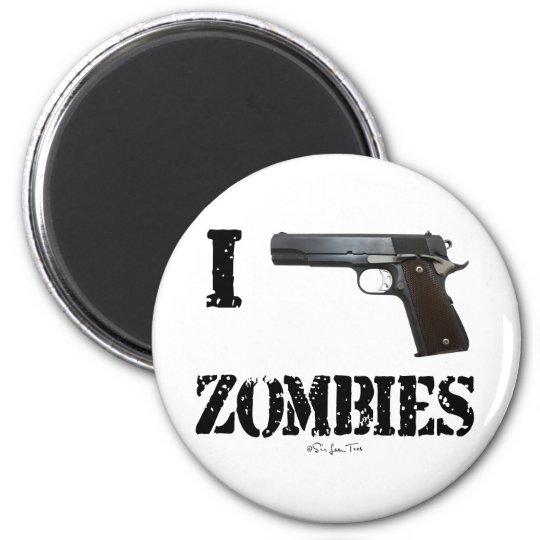I Gun Zombies 2 Magnet