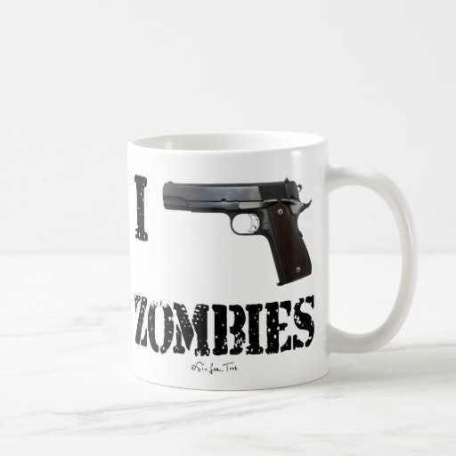 I Gun Zombies 2 Coffee Mugs