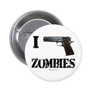 I Gun Zombies 2 Pinback Button