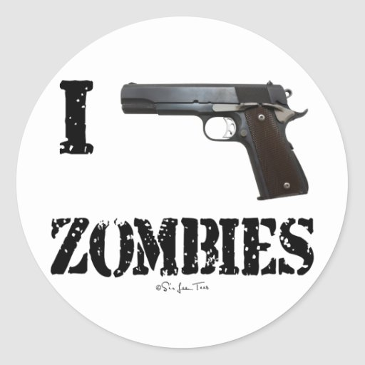 I Gun Zombies 2 Stickers