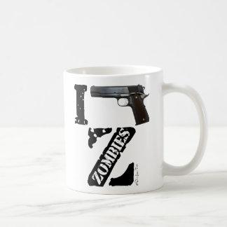 I Gun Zombies Classic White Coffee Mug