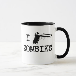 I gun Zombies Mug