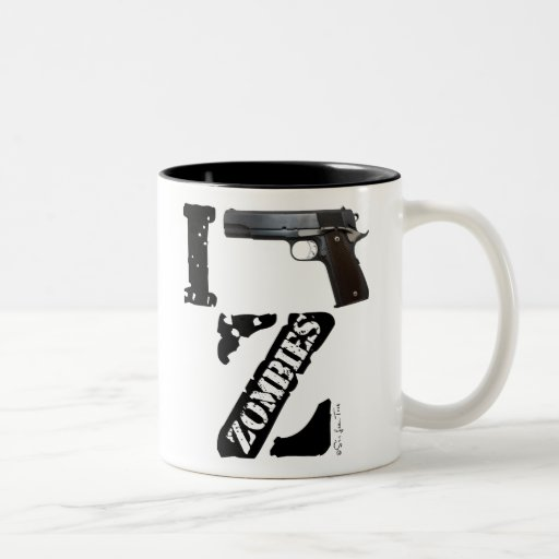 I Gun Zombies Mugs