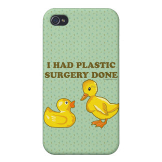I Had Plastic Surgery Done Cover For iPhone 4