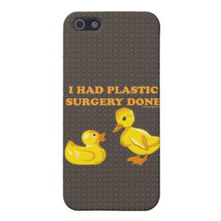 I Had Plastic Surgery Ducks iPhone SE/5/5s Cover
