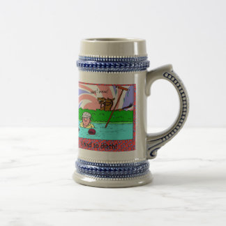 I had to ditch! 18 oz beer stein