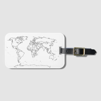 I had visited this countries… luggage tag