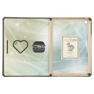 I hamburguesas del jumbo del corazón