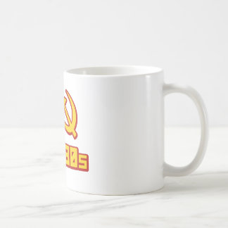 I  hammer and sickle the 80s coffee mug