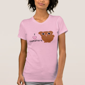 I hámsteres del corazón tee shirts