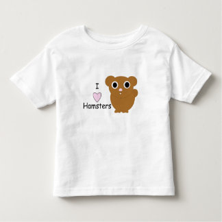 I hámsteres del corazón tee shirt