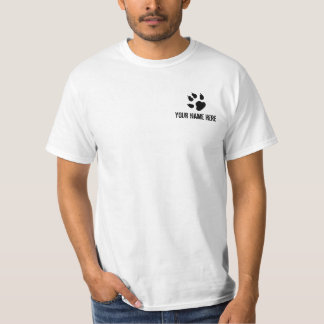 I Handle Wild Animals For A Living White Shirt