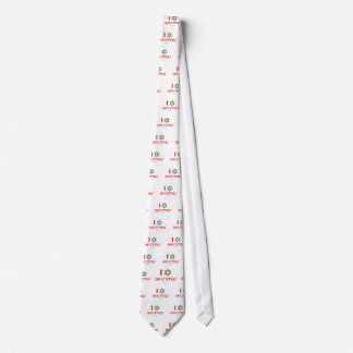 I Hanukkah Christmas green Tie