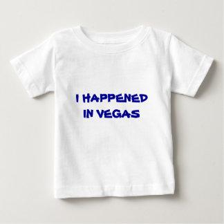 I Happened In Vegas Baby T-Shirt
