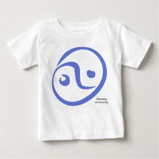 i harmony 'yin yang - eat love pray t-shirts