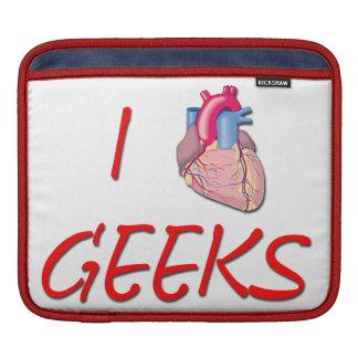 I Hart Geeks Sleeve For iPads