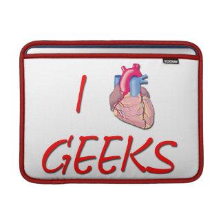 I Hart Geeks Sleeve For MacBook Air
