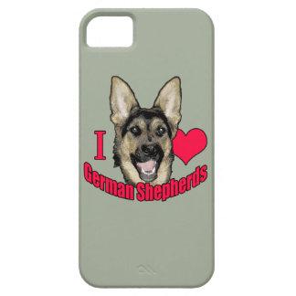I Hart German Shepherd iPhone SE/5/5s Case