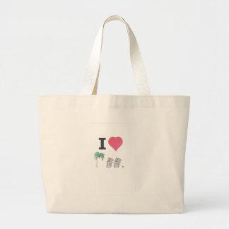 I Hart Palm Springs 001 Large Tote Bag