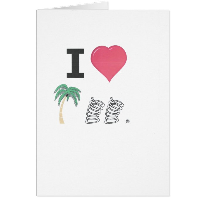 I Hart Palm Springs Card
