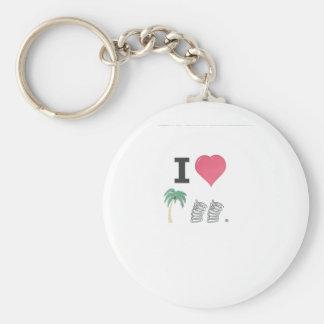 I Hart Palm Springs Keychain