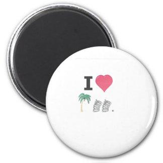 I Hart Palm Springs Magnet