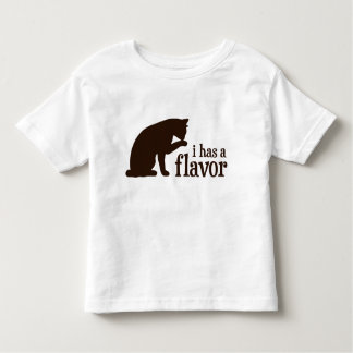 i has a flavor Kitty Cat Toddler T-shirt