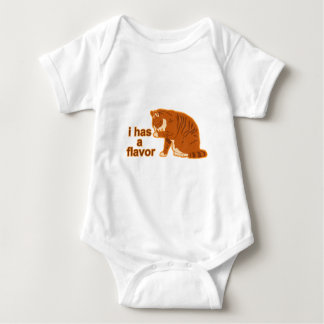 I has a flavor, LOL CAT Baby Bodysuit