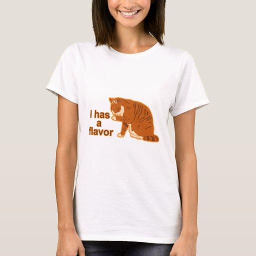 I has a flavor, LOL CAT T-Shirt