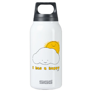 I Has A Happy Thermos Bottle