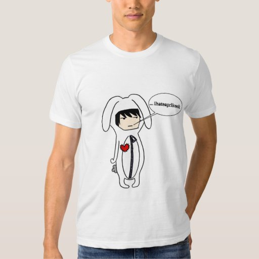 I Hate April Cook Guys Bunny Suit Tee