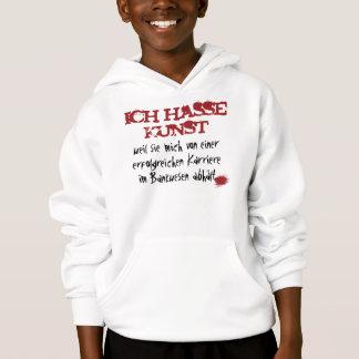I hate art… hoodie