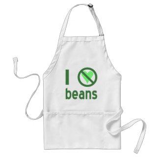 I Hate Beans Adult Apron
