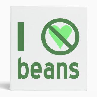 I Hate Beans Binder