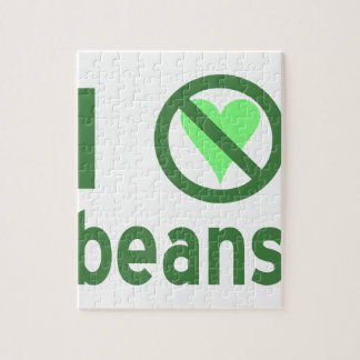 I Hate Beans Jigsaw Puzzle