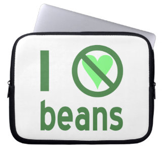 I Hate Beans Laptop Computer Sleeve
